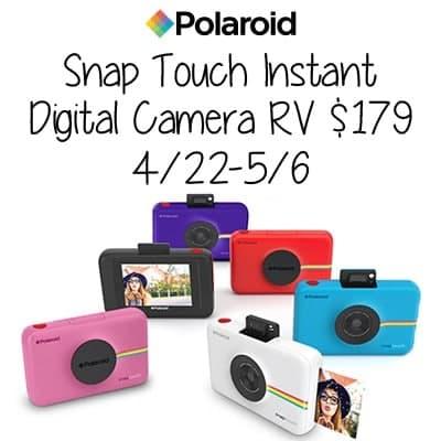 Polaroid snap touch camera