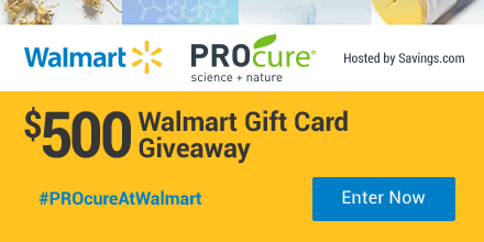 PROcure Printable Coupon And Gift Card Giveaway