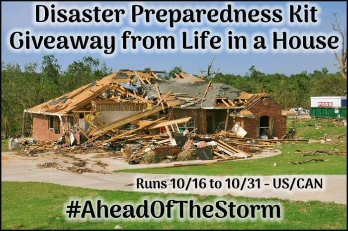 Disaster Preparedness Kit Giveaway