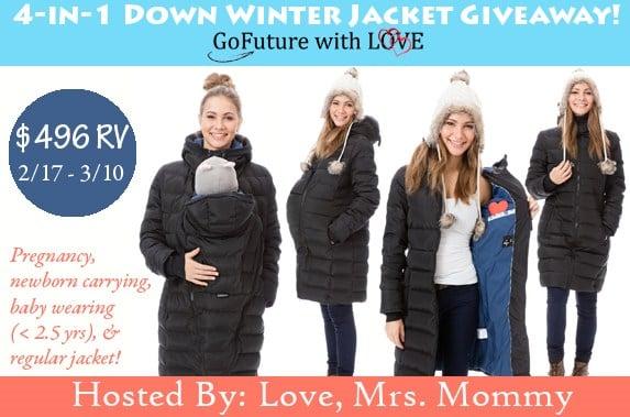 Winter Women's Jackets – 4-In-1 Down Winter Jacket Giveaway