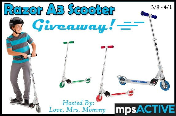 Razor Scooter Giveaway