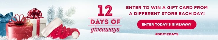 12 days of giveaways 2018