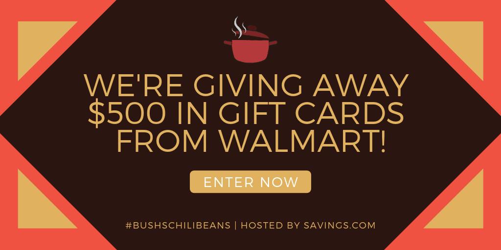 Chili Beans Coupon And Gift Card Giveaway