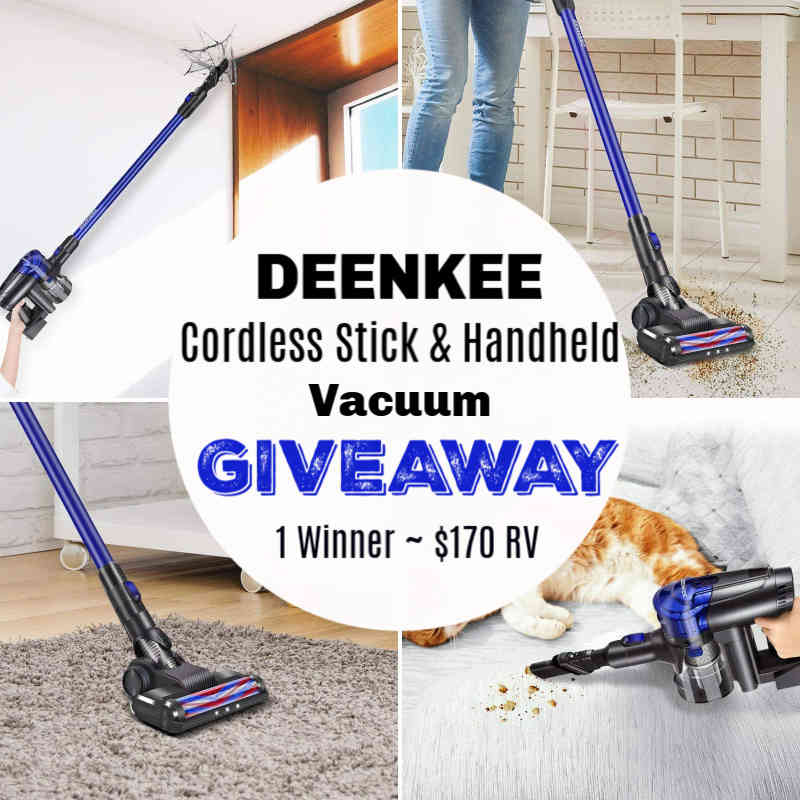 Handheld Vacuum Cleaner Giveaway