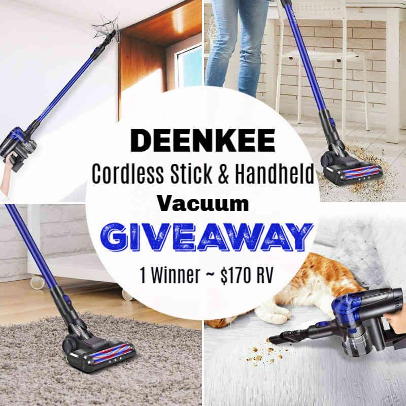 Handheld Vacuum Cleaner Giveaway